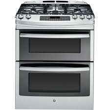 Gas Range With Gas Oven Ge Profile 67 Cu Ft Slide In Double Oven Gas Range With Self