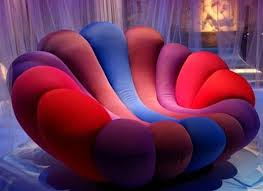 cool funky furniture. cool colorful anemone armchair design by giancarlo zema home and interior funky furniture s