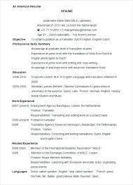 Curriculum Vitae Template Microsoft Word Free Resume Templates 2016 ...