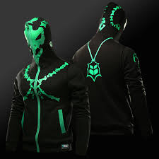 lol size plus size fleece jacket in stock game lol thresh and zed print