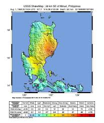 All information you need to know about manila. 1968 Casiguran Earthquake Wikipedia