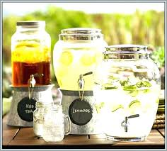 large glass containers with spigots beverage dispenser with spigot glass large drink replacement large glass jars