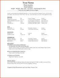 Basic Resume Template Word Resume Template 100 Free Basic Templates Microsoft Word 69