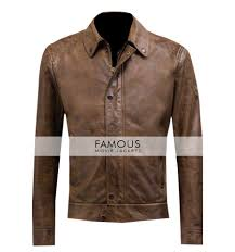 slim fit leather jacket previous