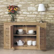 baumhaus mobel solid oak extra. Mobel Solid Oak 6 Drawer Sideboard - Baumhaus Space \u0026 Shape Extra E