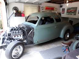 1940 Chevrolet 2 dr Coupe. Solid Missouri project car. | The H.A.M.B.