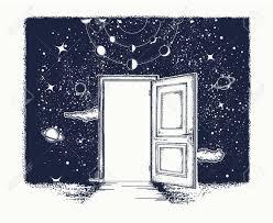 open door tattoo symbol of imagination creative idea motivation new life