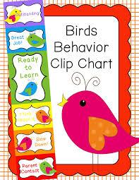 Birds Chart For Kindergarten Behavior Clip Chart Behavior Management Birds Kindergarten