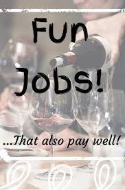 fun jobs that pay well a career you can love