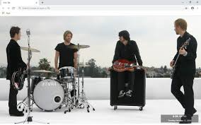 <b>Foo Fighters</b> New Tab & Wallpapers Collection