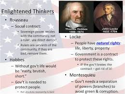 Enlightenment Thinkers Comparison Chart Hobbes Locke And Rousseau Venn Diagram