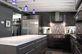 black appliance matte seamless kitchen: black cool appliances industrial cool industrial kitchen with matte black appliance and mosaic tiles