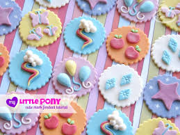 mlp cutie mark fondant tutorial
