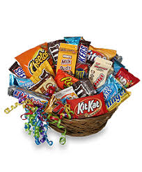 junk food basket gift basket junk food basket gift basket