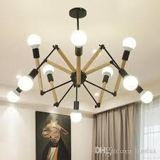lamlux led pendant lamps nordic american spider irregular diy led chandeliers pendant lamp for dinning room hall hotel living room multi pendant light