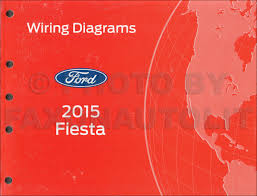 ford fiesta wiring diagram manual original