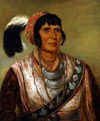 os ce o lá the black drink a warrior of great distinction portrait by george catlin 1838 smithsonian american art museum gift of mrs joseph harrison