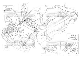 Maserati karif 2 8 wiring harness and electrical ponents r h steering cars page 059