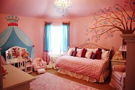 Pink Curtains For Girls Bedroom Bedroom Gorgeous Girl Bedroom Decorating Ideas With White Bed