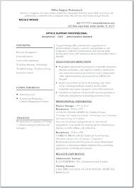 How To Make Resume One Resume Magnificent Professional Examples Of Resumes Simple Resume Examples For Jobs