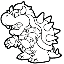 Super Mario Bros Coloring Pages Printables And Coloring Page