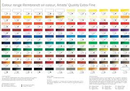 Royal Talens Rembrandt Oil Colour Stater Set 6 X 15ml
