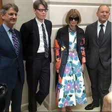 At the met, andrew bolton is the storyteller in chief. The Metropolitan Museum Of Art On Twitter Met Director Thomas P Campbell Curator Andrew Bolton Anna Wintour Jony Ive At The Manusxmachina Press Preview
