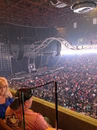 concert seat view for bok center section 328