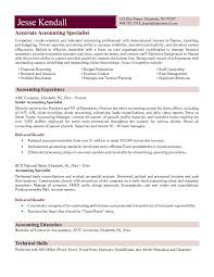 Example accounting specialist resume free sample for Accountant resume  examples . Example accounting vice president resume ...