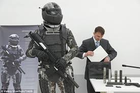 Last Month, The Russian Military Unveiled Another Ratnik Suit That Includes  An Exo Skeleton