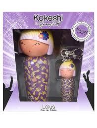 """Купить Набор из <b>туалетной воды</b> и брелка """"<b>Lotus</b>"""" KOKESHI ..."""