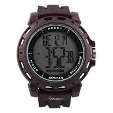 buy digital wrist watches online sonata digital watch for men 77037pp05j