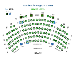Myth Live Seating Chart Seating Charts Childrens Performing Arts