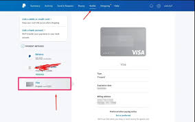 how to add a visa gift card to paypal