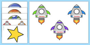 Rocket Ship Reward Chart Space Reward Chart Primary Resources Space Planets Sun Moon