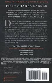 fifty shades darker movie tie in edition book two of the fifty fifty shades darker movie tie in edition book two of the fifty shades trilogy fifty shades of grey series e l james 9780525431886 com books