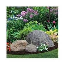 Fake rock garden outdoor decor natural look faux large boulder cover septic  holeproduct description:this fake rock garden outdoor decor natural look  faux ...