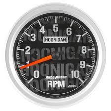 autometer hoonigan series gauge 3 3 8 85 7mm tachometer 0 autometer hoonigan series gauge 3 3 8 85 7mm tachometer 0 10 000 rpm in dash 4497 09000