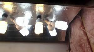 Homemade Cfl Grow Light Fixture Easy Diy Cfl Grow Light