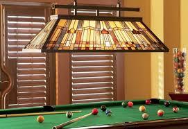 billiards light height