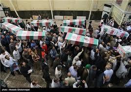 Image result for ایران اسلامی میزبان پیکر مطهر ۲۰۰ شهید دفاع مقدس
