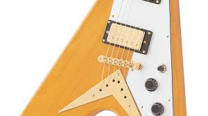 korina flying v korina neck a 24 75rdquo scale and a slimtaperacirc132cent profile the rosewood fretboard has a 12rdquo radius a 1 68 nut and features pearloid dot inlays