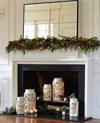 Summer Fireplace Candle Decoration