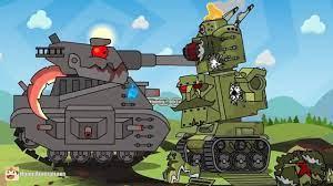 Xe tăng bắn nhau - Xe Tăng Hoạt Hình - Xe Tăng Quái Vật - Tanks for kids -  248