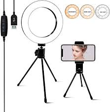 Ring Light [6.3 Inch] with Phone Tripod Stand ... - Amazon.com