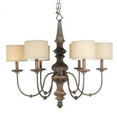 excellent chandelier shade made of canvas and iron