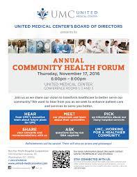flyers forum annual community health forum