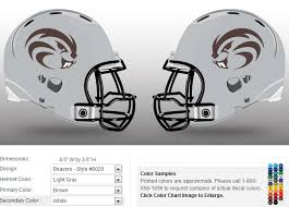 design your own football helmet logo stock helmet decals healy