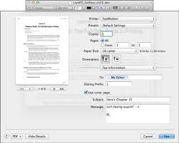 How To Fax From Mac Send Faxes From Your Mac With Mountain Lion Dummies