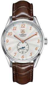 tag heuer swiss automatic carrera calibre 6 brown alligator leather strap watch 39mm was2112fc6181